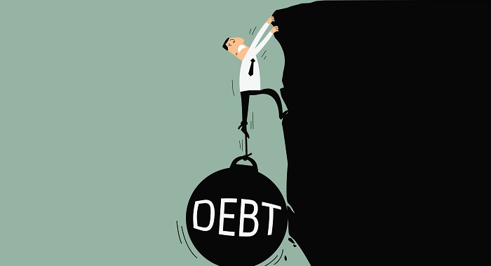 Top 10 U.S. States With the Highest Percentage of Residents in Debt